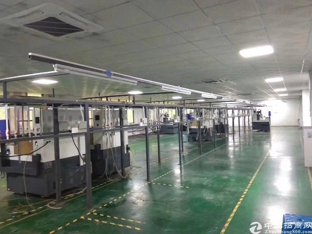 长安宵边第三工业区楼上1500平方豪华装修水电齐全