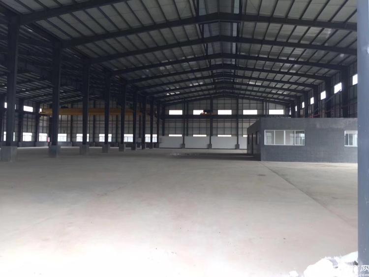 惠州园洲全新12米高单一层独院厂房出租