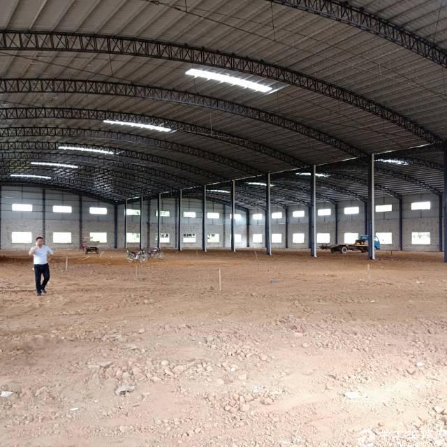原房东自建钢结构厂房9700方,包办环评