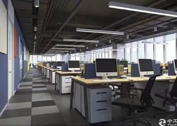 固戍地铁口全新装修83平写字楼,交通便利,车位充足图片3