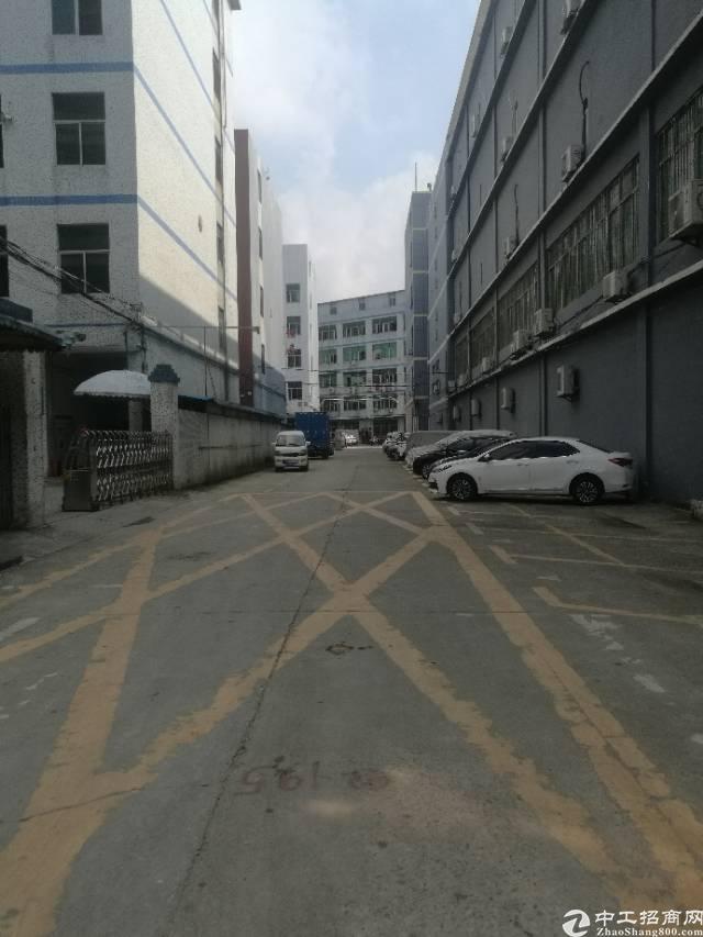 横岗排搒工业区厂房1楼500平出租
