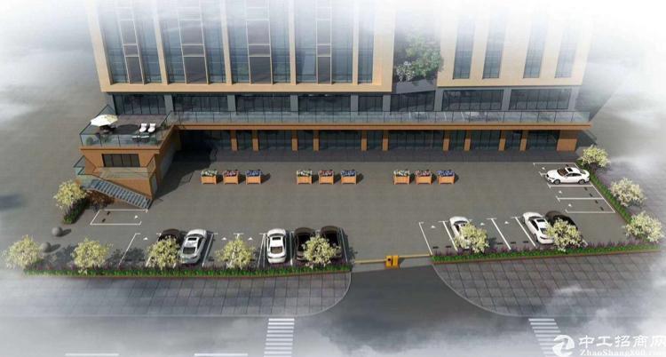 固戍地铁口150米全新装修写字楼,免一年的管理费