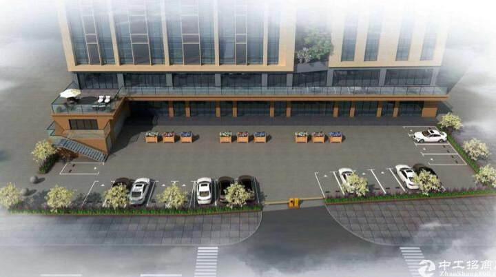 固戍地铁口全新装修83平写字楼,交通便利,车位充足图片4