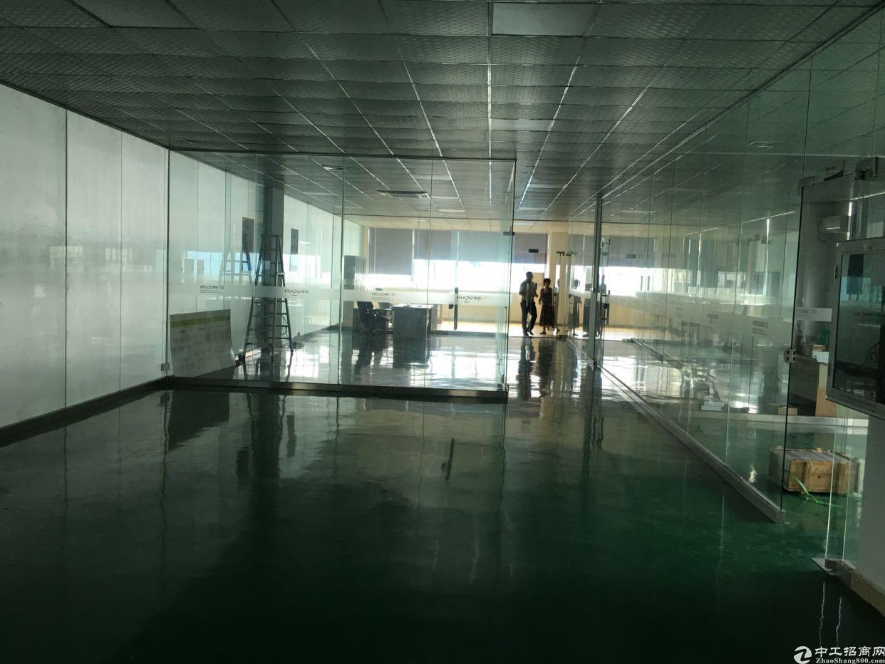 大朗镇新出二楼2000平方米现成办公室装修、水电齐全
