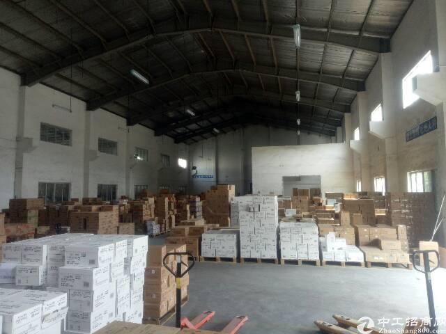 平湖新出标准物流仓1200平,层高12米带卸货平台