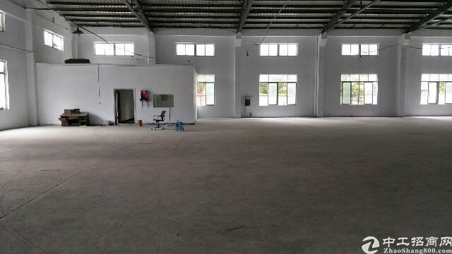 东莞市大朗镇犀牛坡单一层厂房出租