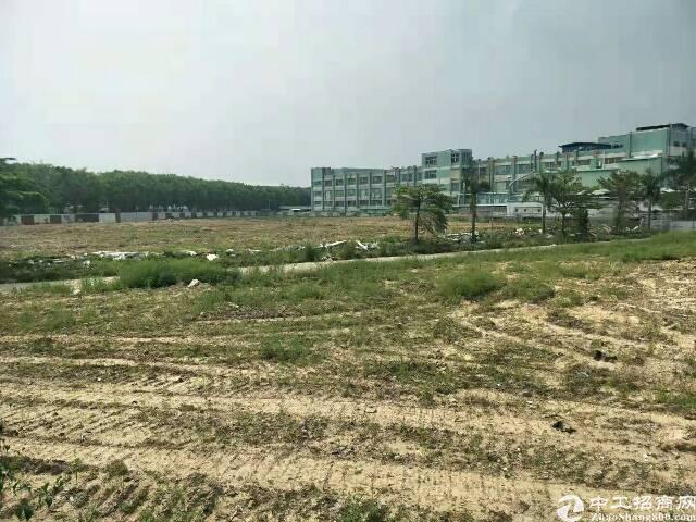 黄江镇莞深高速出口旁50000㎡空地出租,大小可分租