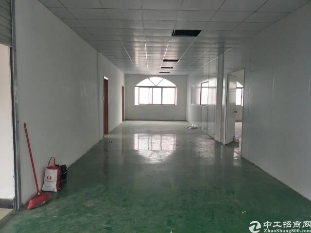 长安镇新出楼上14块带精装修标准厂房