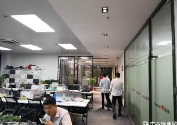 出租坪山大道边上精装修办公室368平图片5