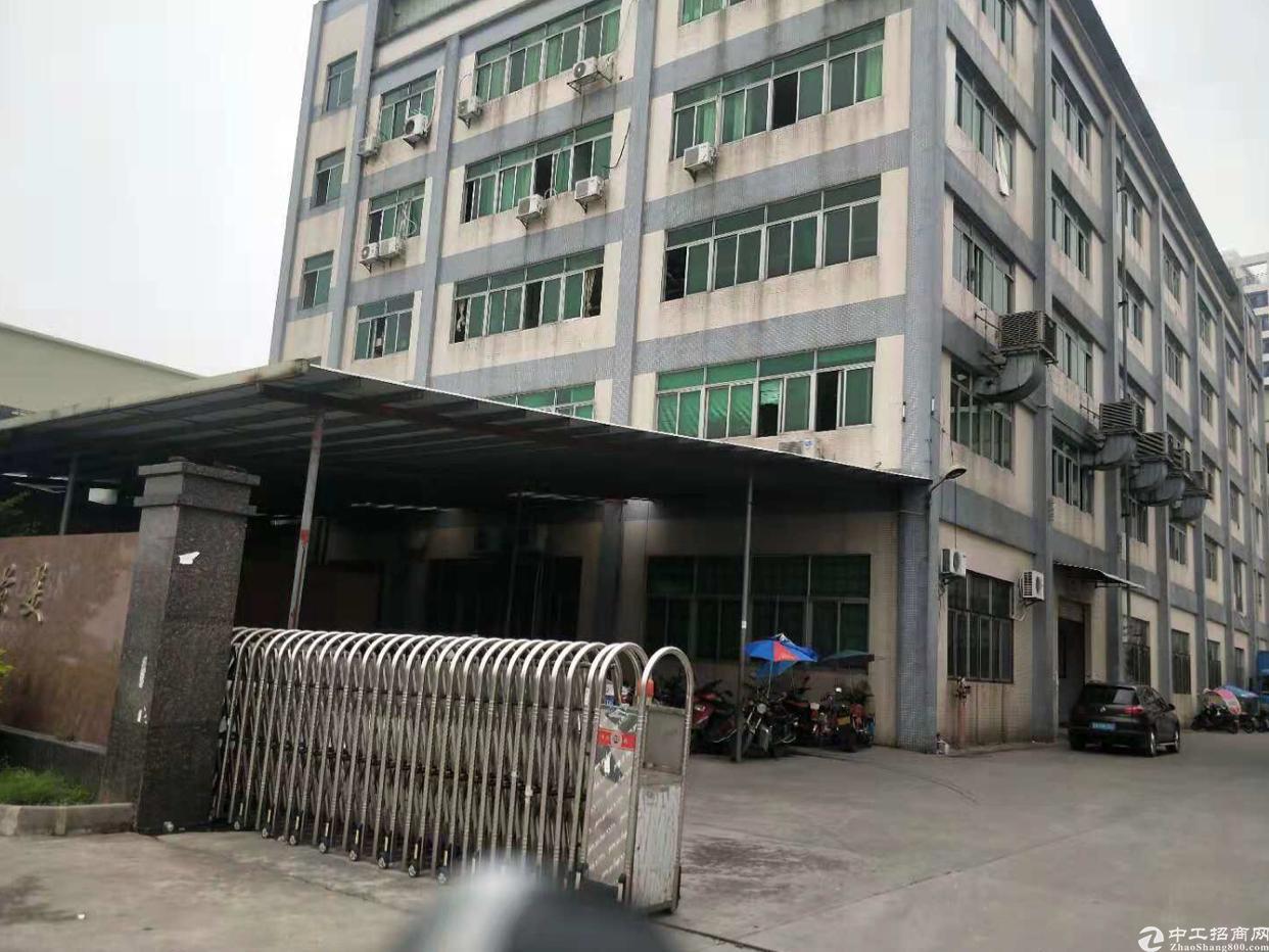 东城鳌峙塘工业区出租4层34000平方带2部电梯可分租