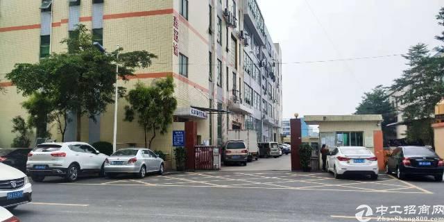 公明西田大型园区新出楼上2700平方厂房,豪华装修,无转让费