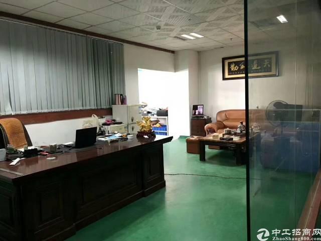 沙井后亭地铁口新出楼上1200平精装厂房出租
