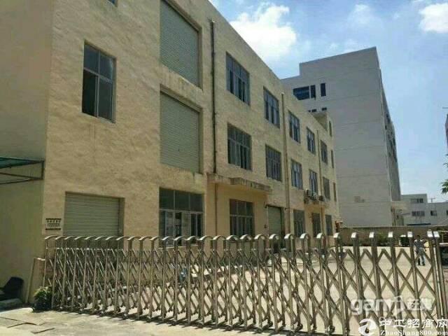 沙井107新出楼上5000平方独院厂房急租