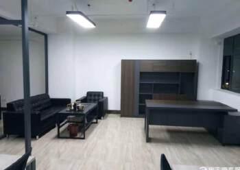 西乡地铁口113平米精装修写字楼招租图片1