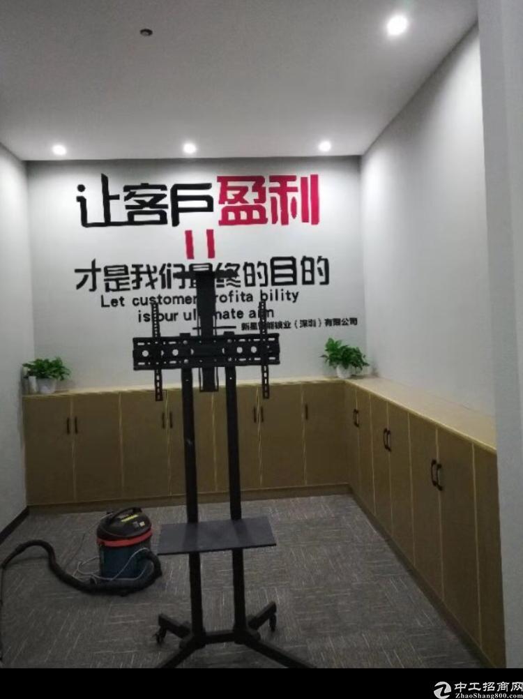 华南城地铁口甲级写字楼98平起出租
