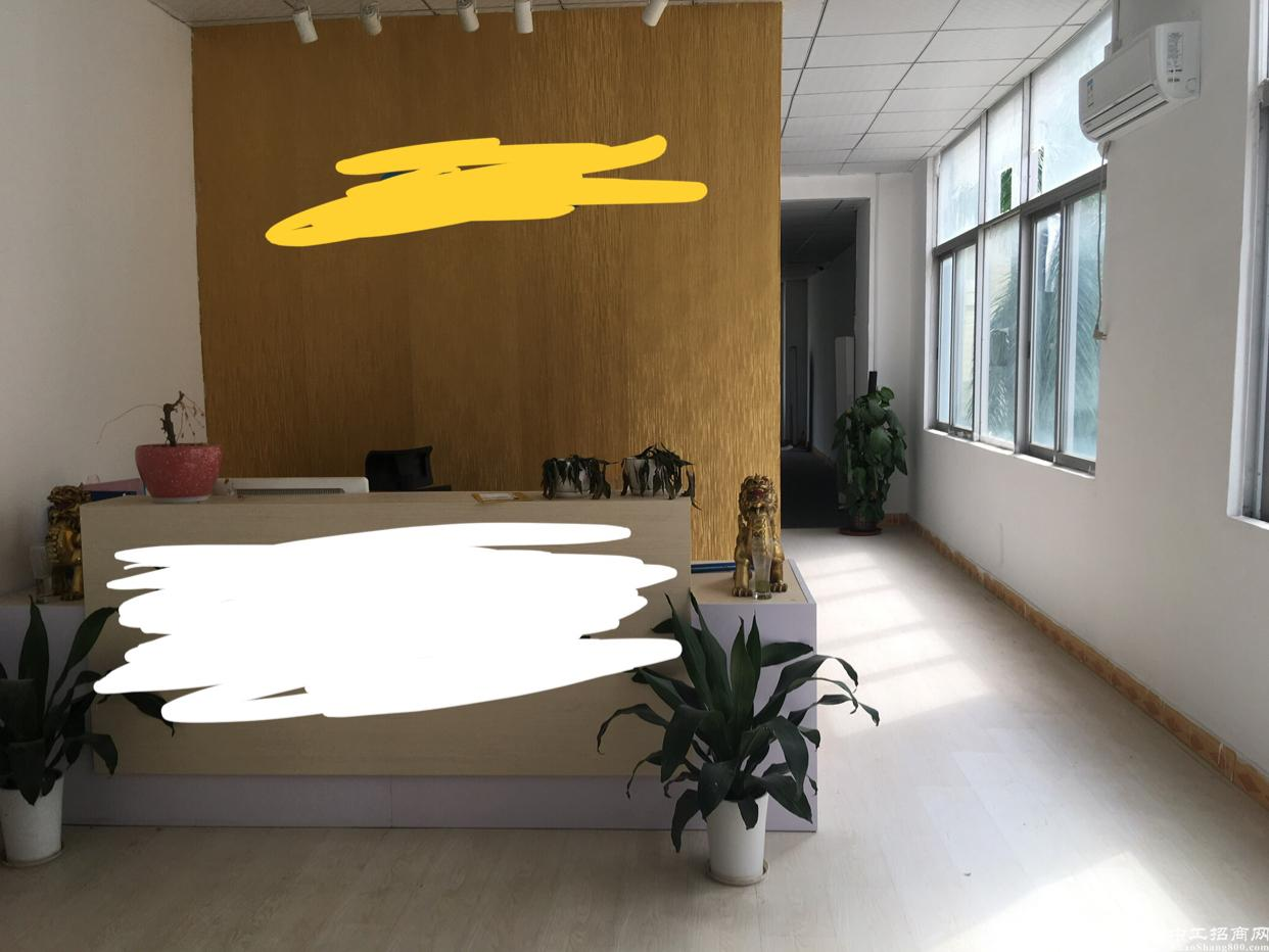 龙华大浪商业中心旁福龙路边原房东带装修厂房出租