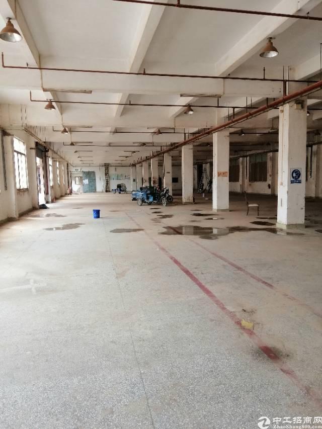 黄江镇靠深圳公明标准厂房一楼1560平米出租