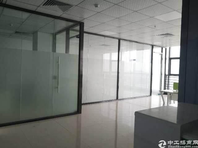 观澜大和新出楼上精装修办公室190平方图片8