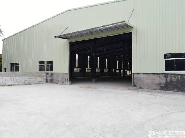 马安镇原房东8米高独院钢构3000平米厂房出租