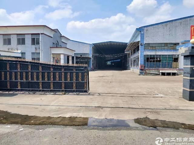 中堂主干道边独院单一层钢结构厂房出租8000平