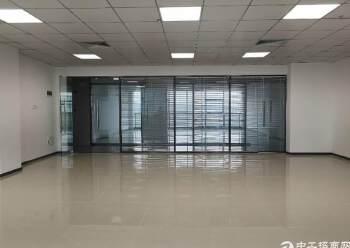 观澜大和新出楼上精装修办公室190平方图片4