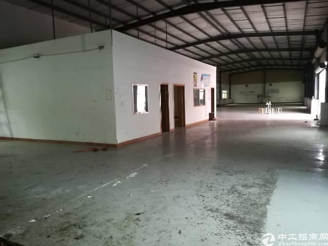 观澜村委独栋钢构1280平带卸货平台招租