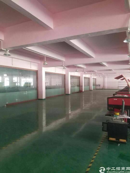 观澜新出楼上660平带装修厂房出租