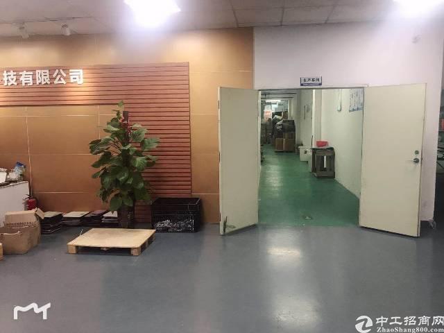固戍大门107国道边3楼2000平米带装修厂房