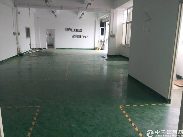 公明街道马山头新出精装修楼上厂房460平方.
