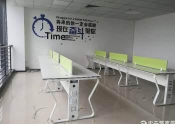 观澜大和新出楼上精装修办公室190平方图片3