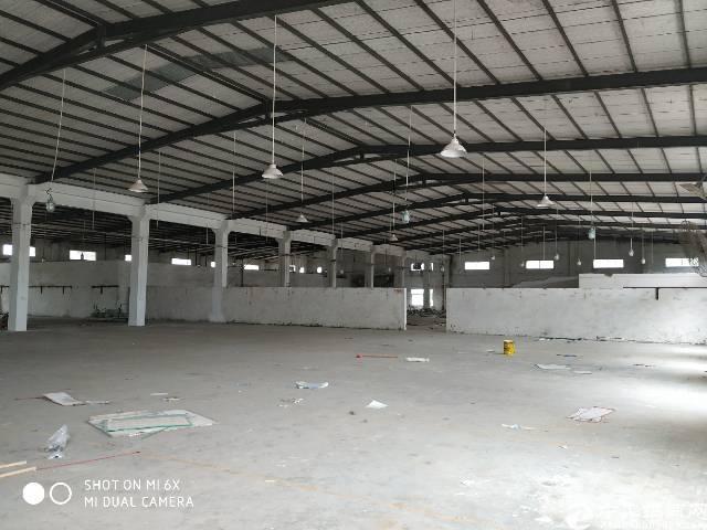 坪地高速口6.5米高独院钢构厂房16000平米,可分租