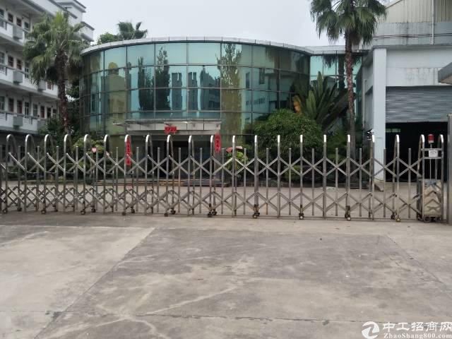 虎门原房东独院厂房招租面积8600平报18元园区绿化非常好