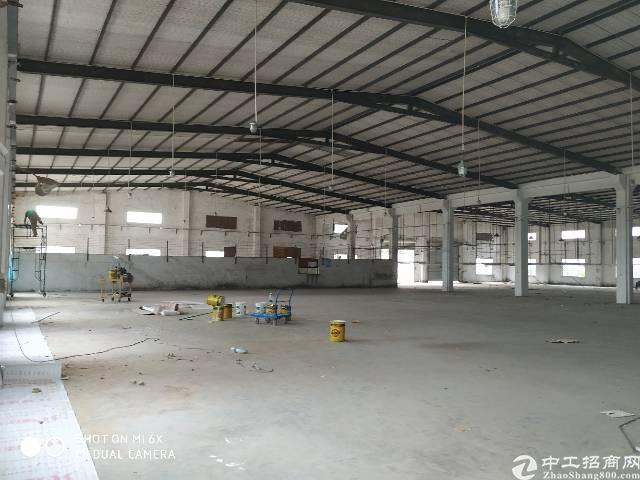 龙岗坪地独院7米高钢构厂房16000平米,大小分租