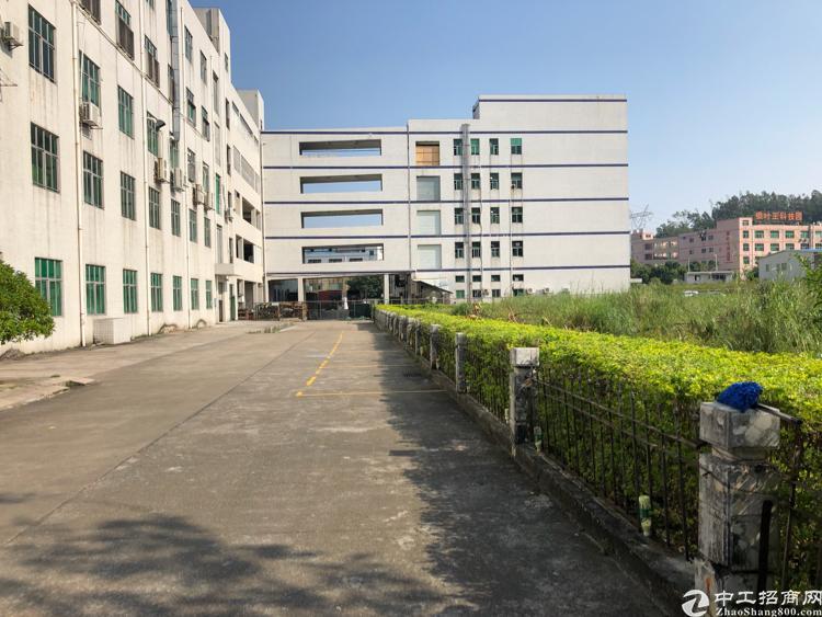 横岗安良标准厂房一楼900平米出租交通方便