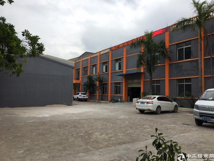 坪山坑梓坪山大道边1楼3个600平米钢构厂房出租