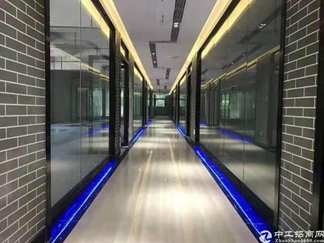 沙井东环路边全新精装修写字楼80平米起租图片4