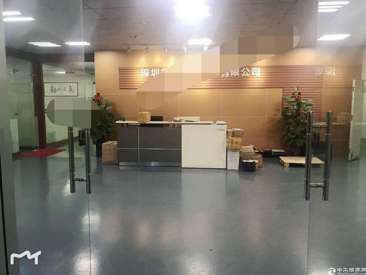 福永107国道旁凤凰新出原房东850平带装修厂房出租