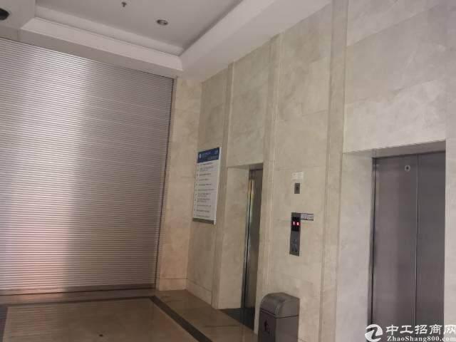 出租坪山大道边上精装修办公室368平图片3