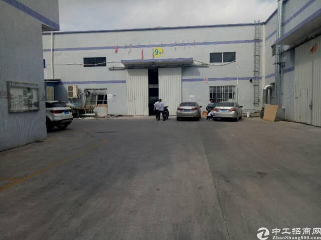 惠阳新圩大型工业园内出租厂房3600平,滴水8米只5%的公摊