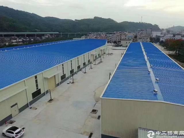 惠州2万平米高9米单层钢构出租空地1万平电1千kva