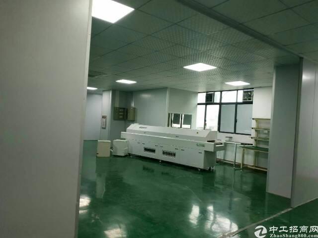 大岭山杨屋新出楼上精装修一整层850平方厂房出租