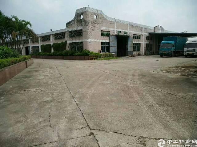 横岗原房东大型工业园钢构厂房其中3栋3000平方大小分租