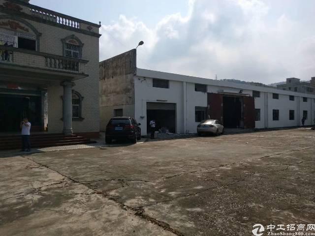 龙岗坪地中心村独院钢构厂房6000平米出租