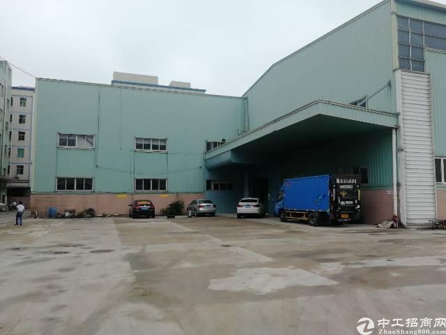 龙岗中心城独门独院钢构厂房12米高10000平出租