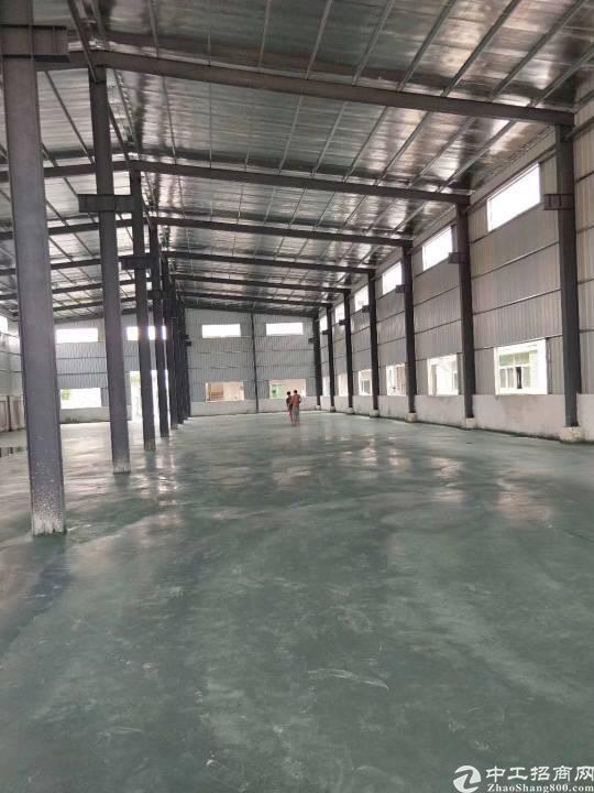 黄江镇靠近莞樟路旁边新出独门独院钢结构厂房1100平方报价