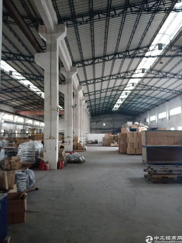 清溪镇钢构厂房1000平出租
