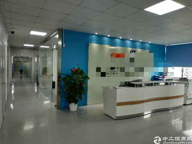 鹤州工业区3楼1500平米带装修厂房