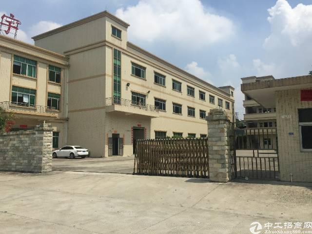 高埗镇独院厂房4500平靠百茂物流城
