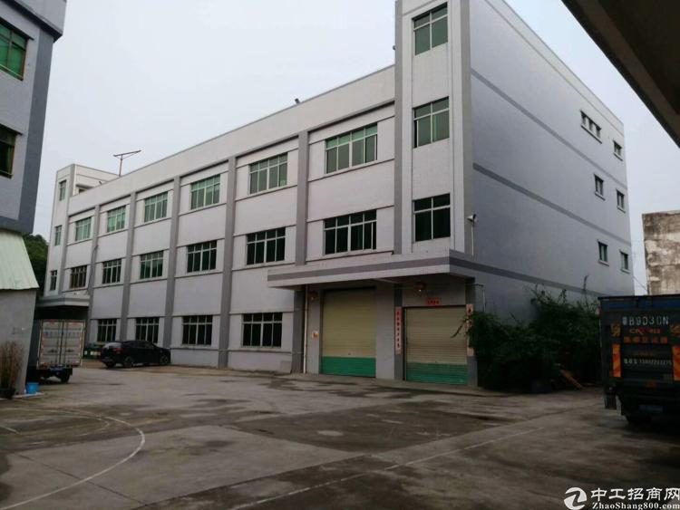 博罗新出独院标准三层厂房出售总建筑面积7000平方米