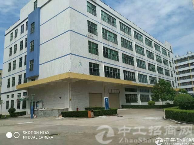 厚街镇三屯村现有标准独院厂房二楼690平米带精装厂房招租